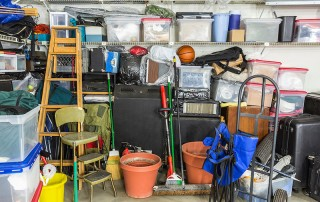 Declutter your garage and make it safer